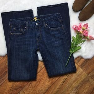 7 For All Mankind A pocket dark wash jeans